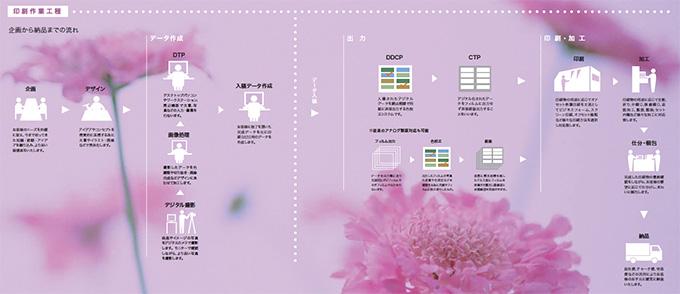 印刷作業工程イメージ